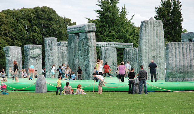 Bouncy Stonehenge Coming To London