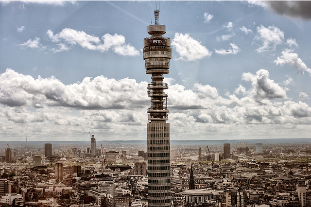 Another Charitable Opportunity To Go Up The BT Tower