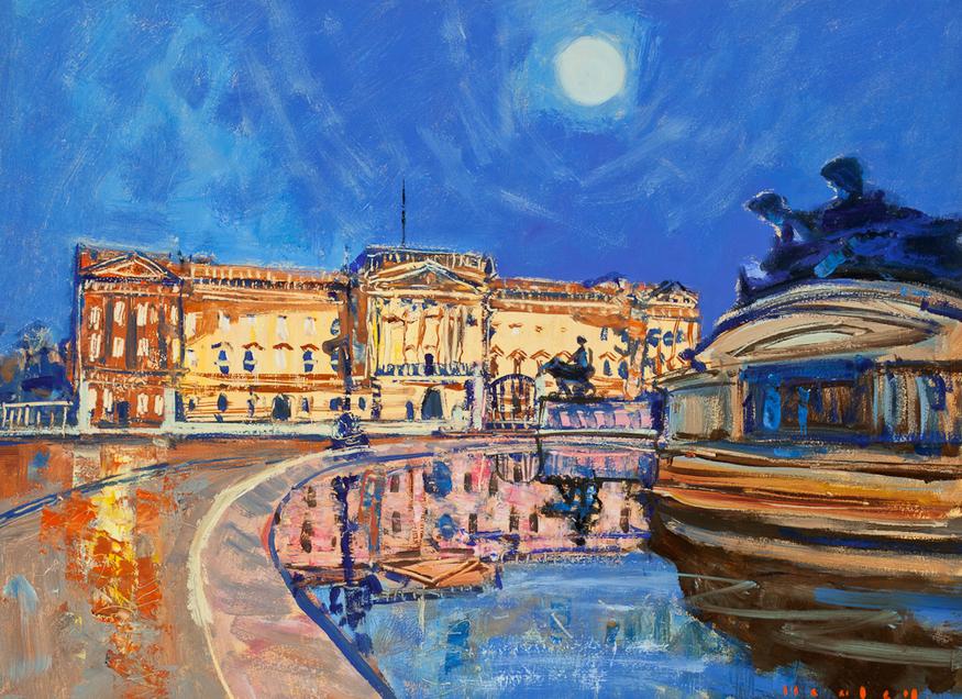 Mike Healey, Buckingham Palace.
