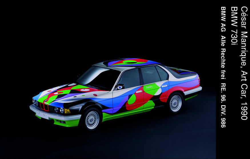 Cesar Manrique, Art Car, BMW 730i