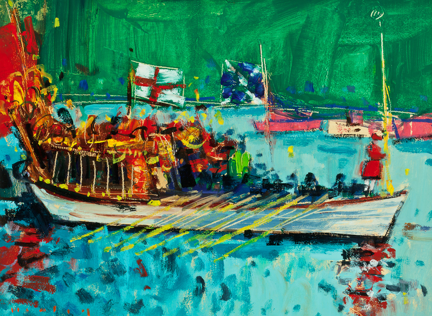 Mike Healey, Gloriana River Pageant