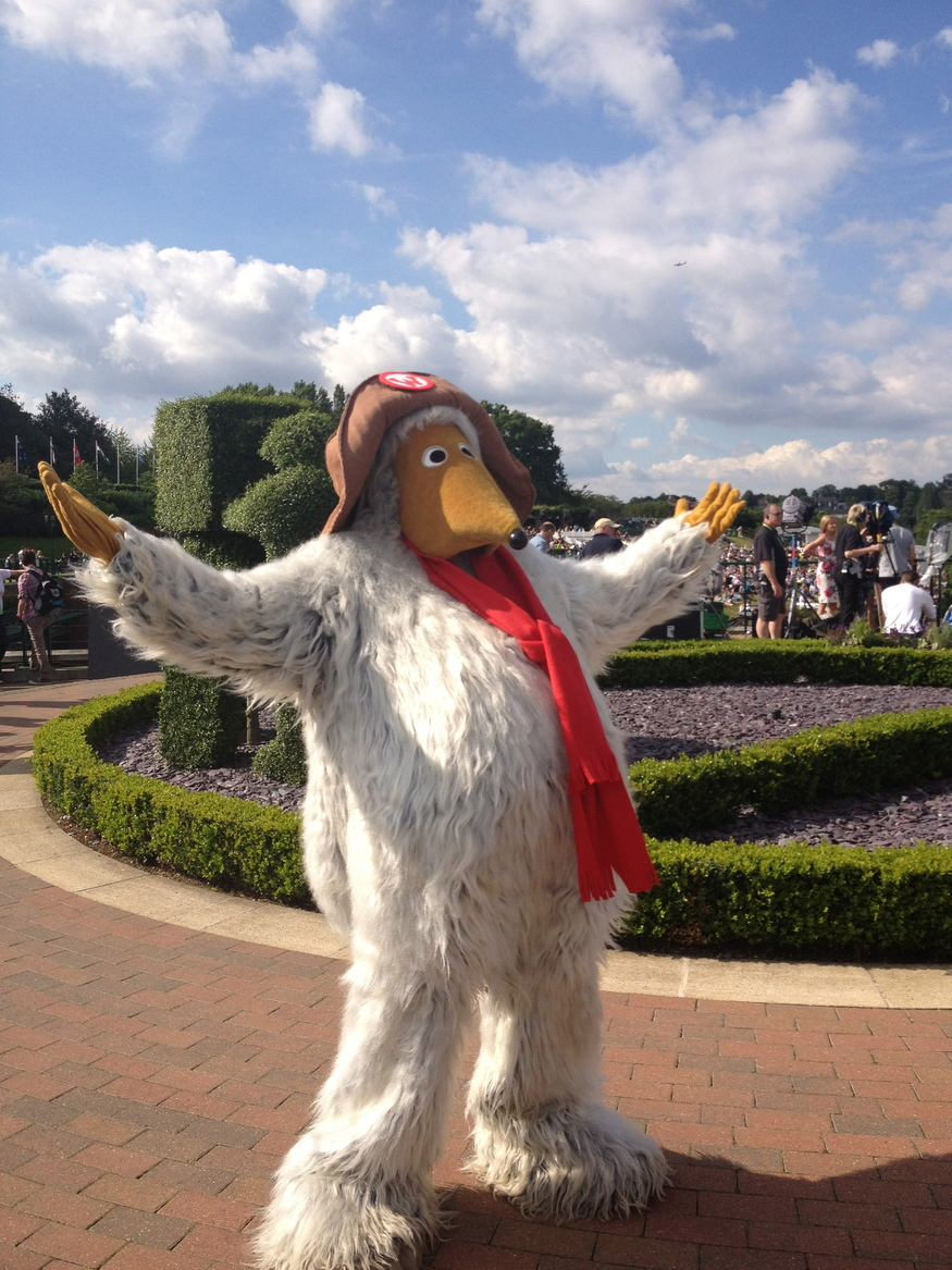 It wouldn't be Wimbledon without a Womble in town