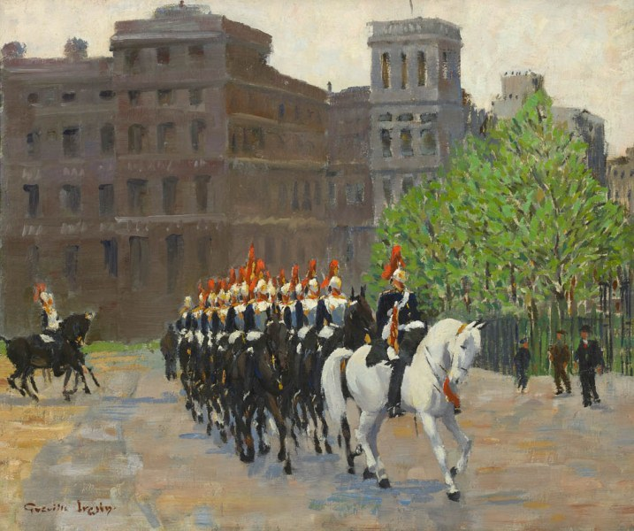 Greville Irwin RBA, The Old Guard. Courtesy Panter & Hall