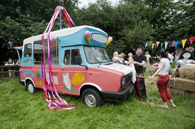 The Ice Cream Van.