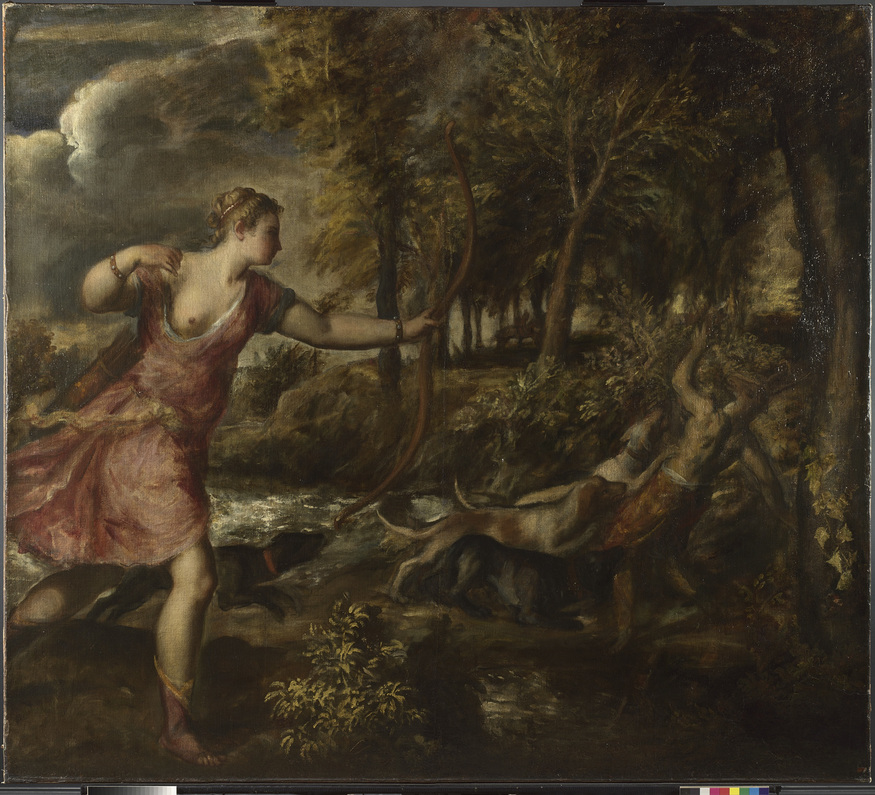 Titian, The Death of Actaeon Photo. © The National Gallery, London