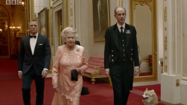 On Her Majesty's Not-So-Secret Service.