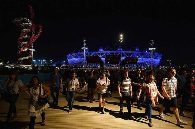 Central Line Causes Problems For Opening Ceremony Rehearsal