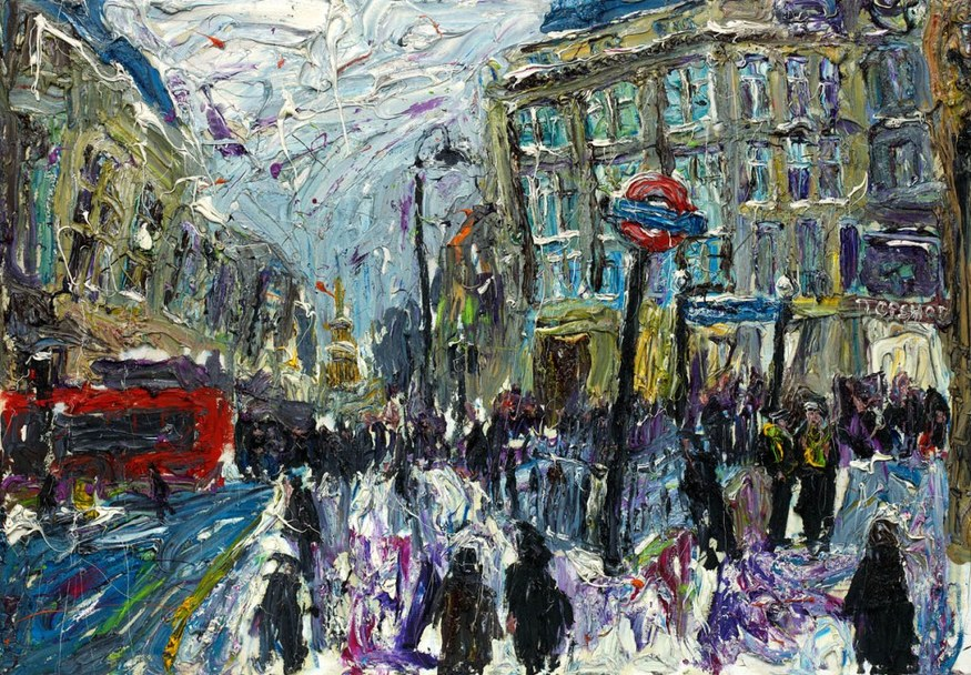 Ross Ashmore, Oxford Circus. Courtesy Panter & Hall