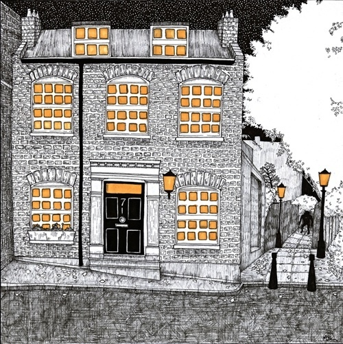 Robert Louis Stevenson's House in Hampstead by Michael O'Brien.