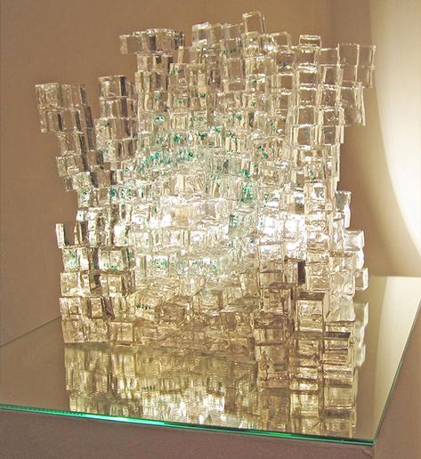 Rubik's Years (installation view), Nicola Anthony