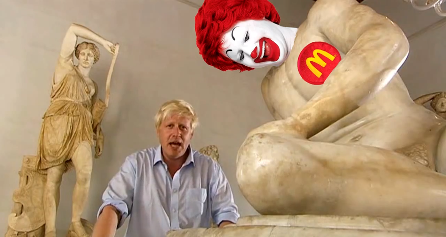Boris Johnson Introduces The London Olympics