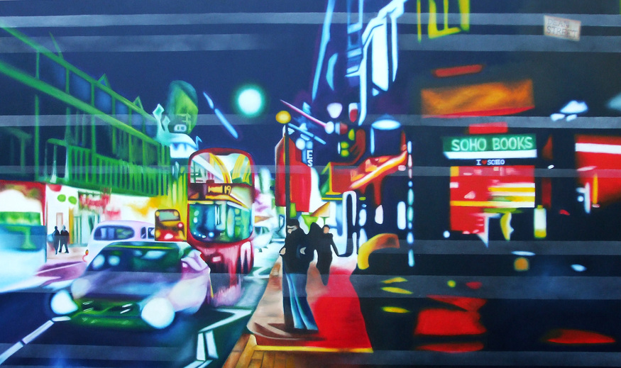 Andrea Tyrimos, Soho Lights. Courtesy Premiere Art.