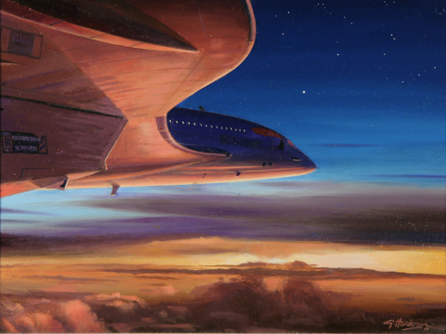 'Speedbird' by Graham Henderson. Courtesy Guild of Aviation Artists.