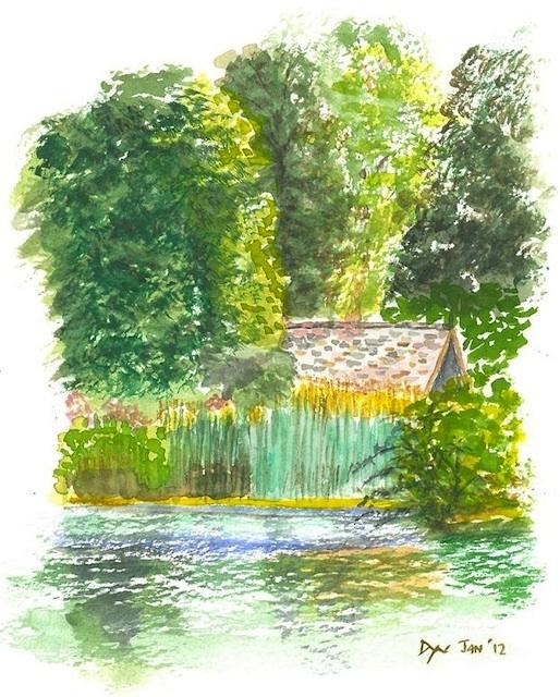 Summer in St James's Park by Deborah Warner.
