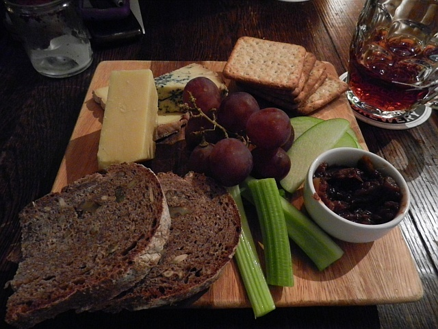 A big cheese platter.