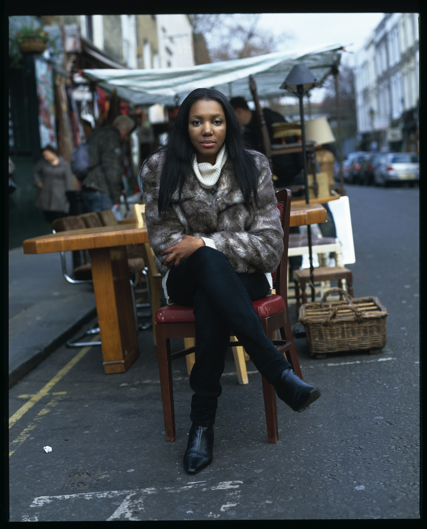 Emely Dlamini from Swaziland, by John McCafferty (courtesy of The Photographers' Gallery, London)