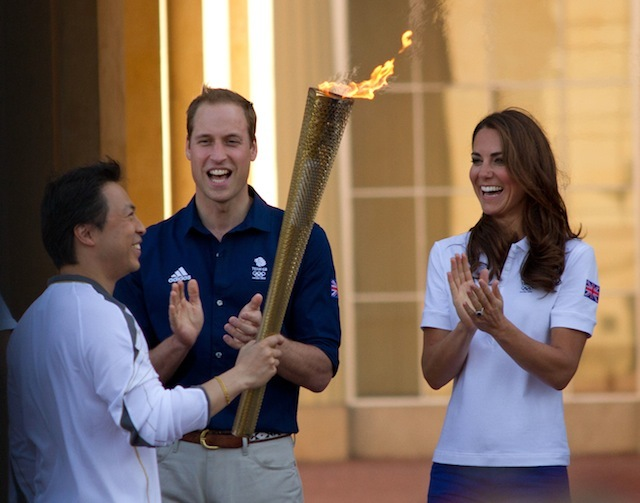 Will & Kate cheer on MapAction Worker Wai-Ming Lee by Snehal Shah
