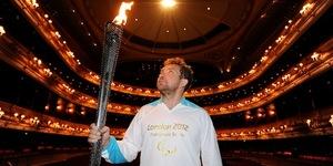 Paralympic Cauldron Lit In Trafalgar Square