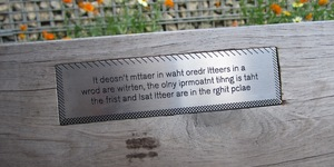 Things To Do In The Olympic Park: Find The Bench Facts