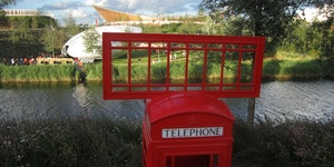 Things To Do In The Olympic Park: Phone Box Art