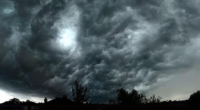 Yesterday's thunderstorm