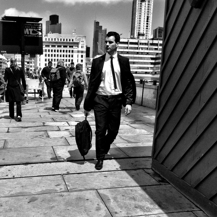 Suit & Tie, London Bridge, by Laura McGregor