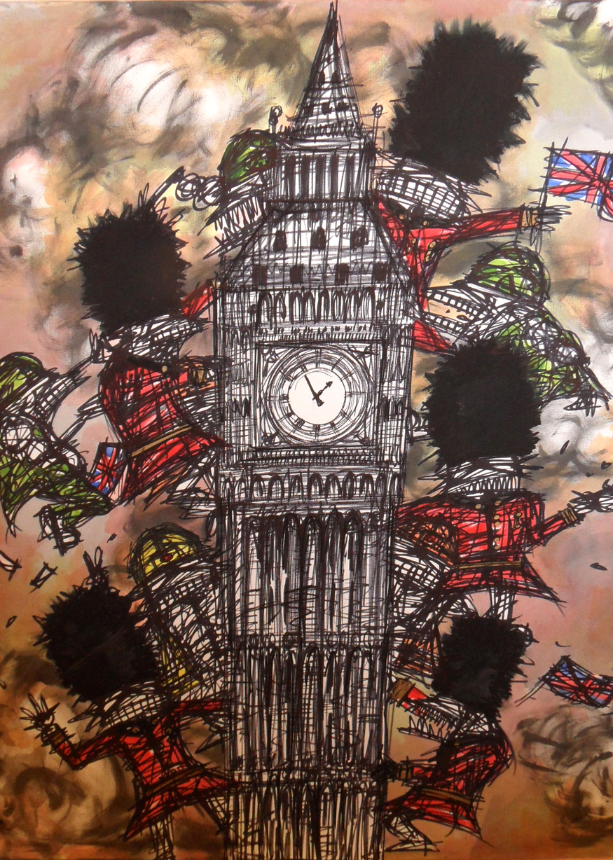 Nathan Bowen, Big Ben Boycott. Courtesy Curious Duke.