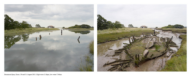 Michael Marten. Beaumont Quay, Essex. Courtesy Gallery@Oxo.