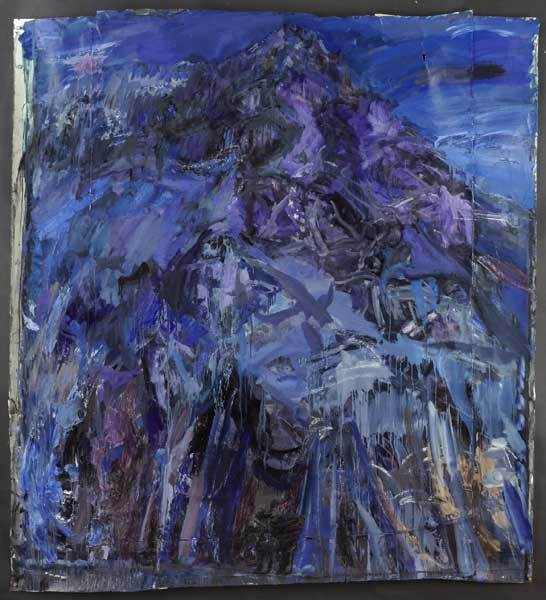 Catherine Goodwin, Blue Mountain. Courtesy Marlborough Fine Art.