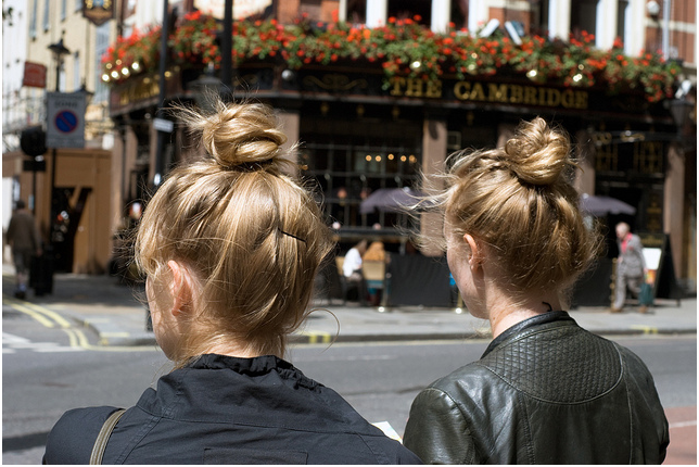 Two Buns, by Simone Fisher