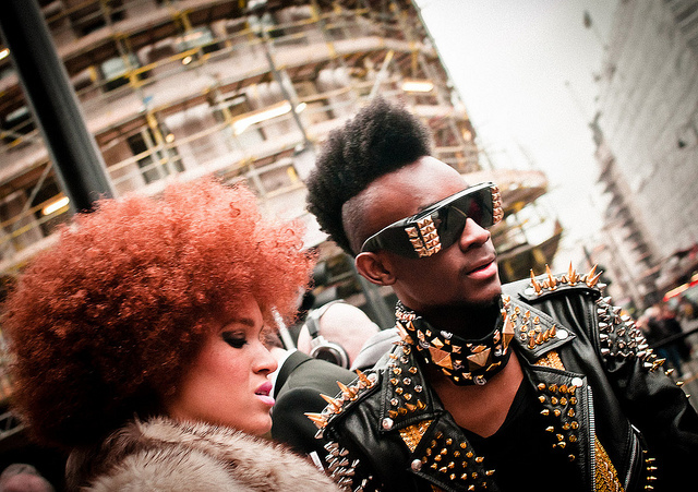 It could only be London Fashion Week, by Robbie Ewing