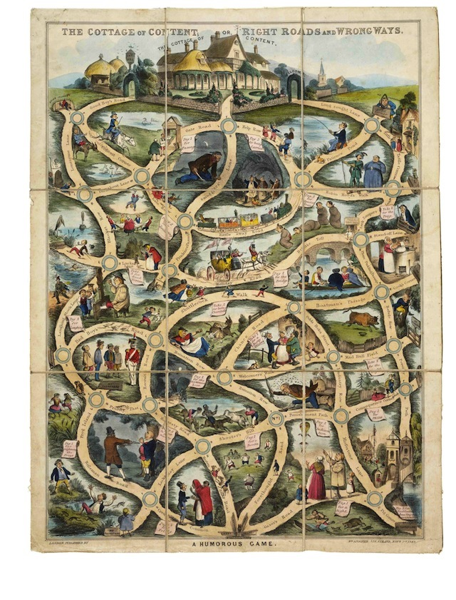 In Pictures: Vintage Board Games At The V&A