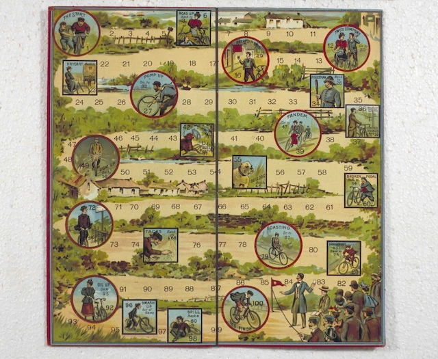 Get your Wiggins on with this cycle game from the early 20th Century.