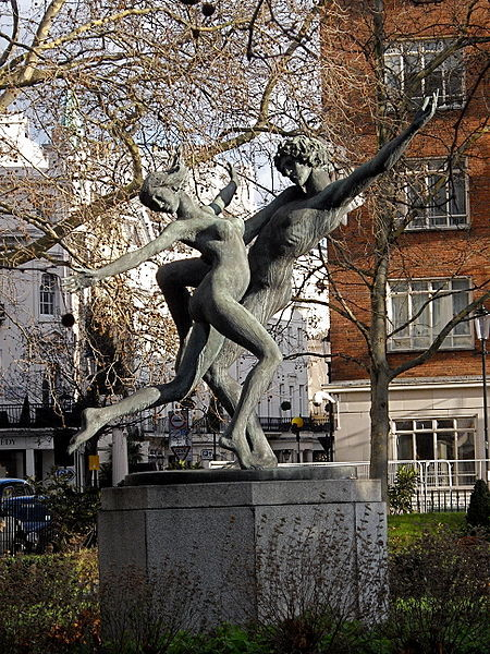 The Dancers, Cadogan Square by David Wynne / photo by Rev Stan via Wikimedia Commons