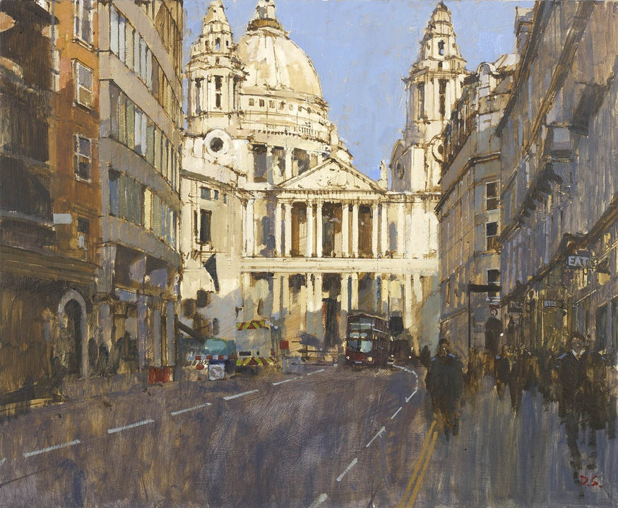 David Sawyer, St. Paul's from Ludgate Hill