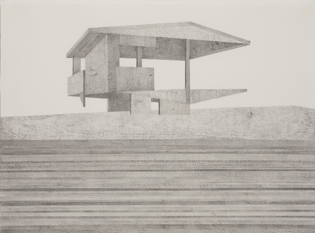 Jane Dixon, Platform (from model series). Courtesy Jerwood drawing prize
