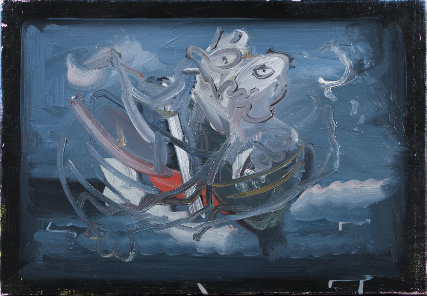 Francis West, Boat of a Thousand Years. Courtesy The Piper Gallery