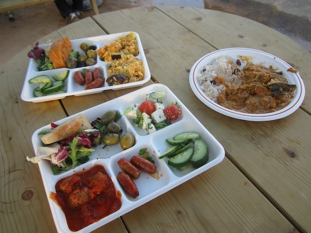 Things To Do In The Olympic Park: Try The Food