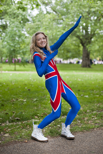 In Pictures: Olympic Fans In London