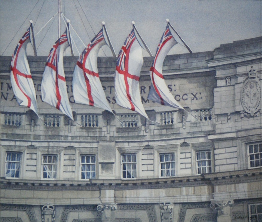 Lillias August, Jubilee Flags - Admiralty Arch