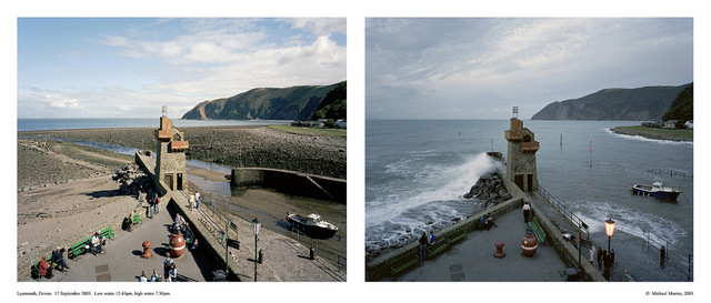 Michael Marten. Lynmouth, Devon. Courtesy Gallery@Oxo.