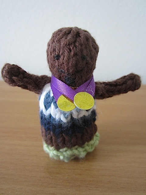 Team GB And Dangleboris...Knitted