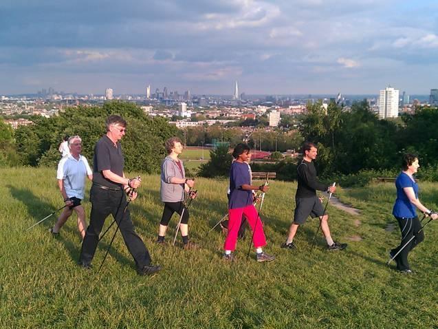 Alternative London Workouts #19: Nordic Walking