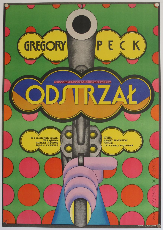 'Odstrzal' by Andrzej Krajewski 1973. Courtesy Eye Sea Posters
