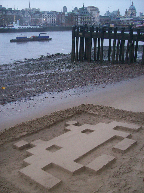 Beach invader.