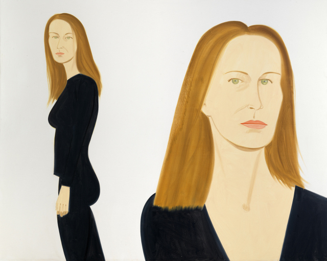 Alex Katz ʻDagomar'. © Alex Katz/Licensed by VAGA, New York, NY. Courtesy, Timothy Taylor Gallery, London