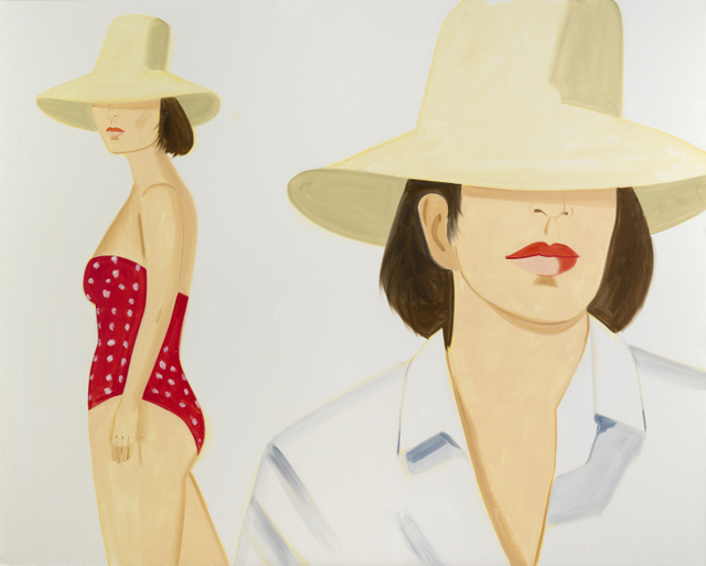 Alex Katz ʻVivien'. © Alex Katz/Licensed by VAGA, New York, NY. Courtesy, Timothy Taylor Gallery, London