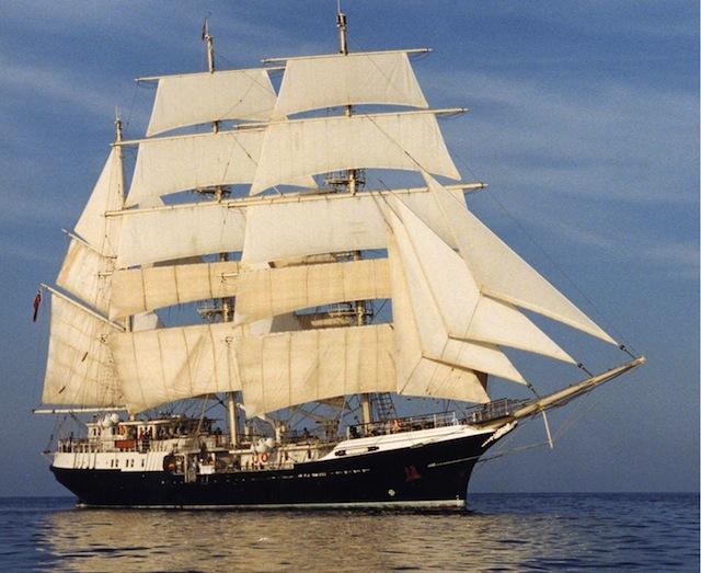 Visit A Tall Sailing Ship At Wood Wharf