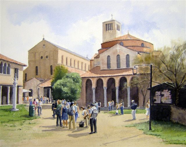 Morgan Llewellyn - Tourists at Torcello