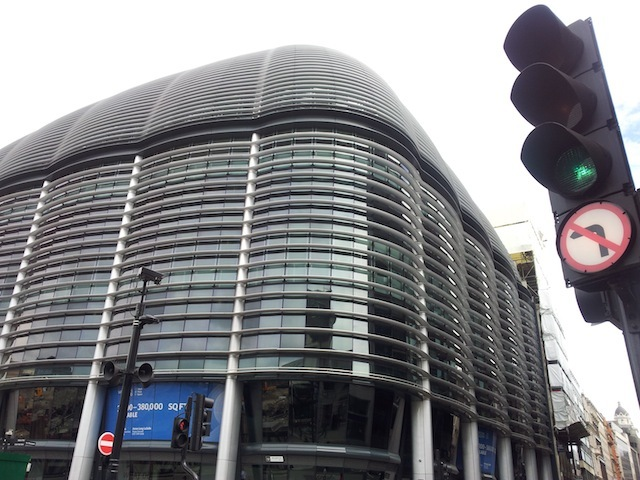 London Stone's new home? The Walbrook Building.